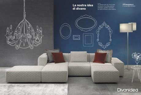 Италиански диван Comunicazione от Divanidea