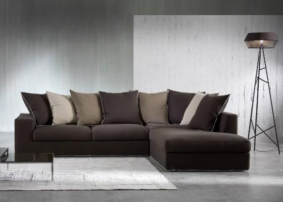 Италиански диван Heritage с възглавници от пенополиуретанова пяна и естествен гъши пух