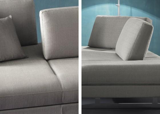 Movie диван от естествена кожа, дамаска, Alcantara®