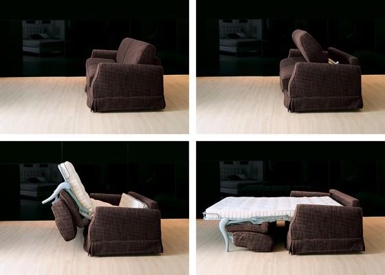 диван спалня Aloa с механизъм за легло и комфортен матрак