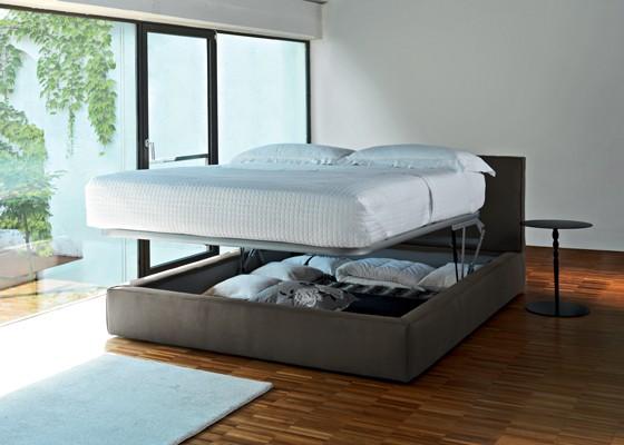 Спалня Dress с възможност за вграждане на механизъм за ракла с газов повдигащ амортисьор