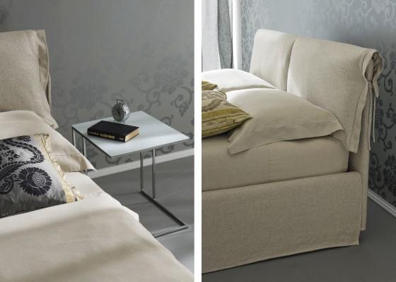 Легло с възможност за вграждане на механизъм за ракла Nuvola
