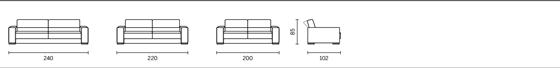 Примерни композиции за диван Teatro