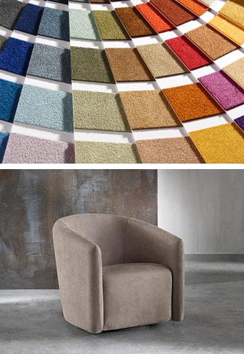 Divanidea ви предлага богат избор от над 70 цвята за всички мебели с Алкантра