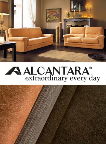 Дивани с покритие от Alcantra, предлагани от Divanidea